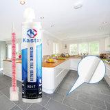 L'étage de imperméabilisation nettoient la colle époxy de porcelaine