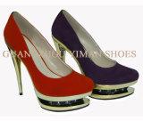 Chaussures de mode de femmes (YMD001015-02)