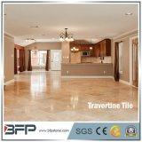 De natuurlijke Tegel van de Travertijn van de Prijs van de Travertijn van Stenen Marmeren met Opgepoetste Oppervlakte
