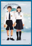 Les uniformes scolaires élevés professionnels faits sur commande vendent en gros, les uniformes scolaires primaires de gosses, uniformes scolaires en bloc