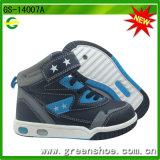 Nouvelles chaussures de patin de chevreaux d'enfants de l'arrivée 2015