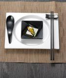"""Mélamine vaisselle blanche de la série «invisible """" Tableware/100%Melamine"""