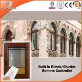 Tissu pour rideaux en aluminium Windows en bois solide de Clading