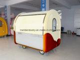 Heißer Verkaufs-Hamburger kundenspezifischer mobiler Nahrungsmittelwagen