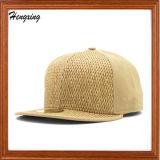 Sombrero de paja de la gorra de béisbol de la paja del sombrero del Snapback de la paja