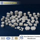 Blocchetto di ceramica dell'allumina a temperatura elevata di resistenza