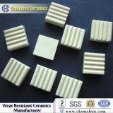 Tuile carrée en céramique d'alumine (10X10X3mm) - constructeurs en céramique résistants d'usure