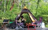 Großhandelspreis-wasserdichtes im Freien kampierendes indisches Dreieck-Zelt