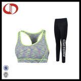 女性のための上デザイン体操のスポーツのヨガの摩耗の適性のスーツ