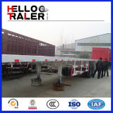 2 asse Container Flatbed Semi Trailer 20FT Flatbed Truck Trailer