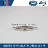 Rostfreie quadratische Unterlegscheibe DIN436