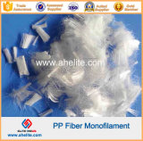 폴리프로필렌 PP 모노필라멘트 Microfiber 구체적인 강화 섬유