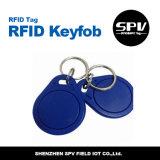 Hf Ntag213 13.56MHz ISO14443A impermeável de Nfc Keychain