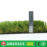 Hierba al aire libre del campo de fútbol del balompié, alfombra artificial de la hierba