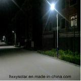 luces de calle solares de las luces solares brillantes 60W todas en una con venta caliente