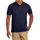 Overhemd van het Polo van mensen het Stevige met Klein Embleem
