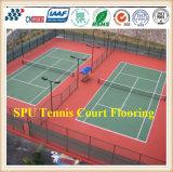 De professionele RubberSporten die van de Tennisbaan de Oppervlakten van de Mat/van Sporten vloeren