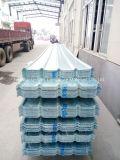 La toiture ondulée de couleur de fibre de verre de panneau de FRP/en verre de fibre lambrisse T172007