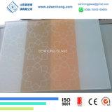 Serigrafia / Impressão digital / Vidro cerâmico laminado / isolante para cortinas
