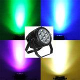7X10W RGBW 4in1 oder weißer CREE LED Aluminiumstadium NENNWERT kann beleuchten
