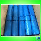 Sacs remplaçables de sacs de détritus de HDPE avec l'étiquette de papier