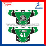 Healong Breathable Farbe sublimierte gedrucktes Eis-Hockey Jersey