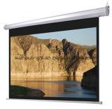 Il proiettore dello schermo di proiezione dello schermo del blocco per grafici fisso seleziona lo schermo del proiettore