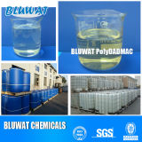 Coagulante di Polydadmac per il trattamento di acqua di scarico con il soddisfare solido di 40%