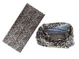 Polyester-Leopard-Entwurfs-Schal 100% (YT-1083)