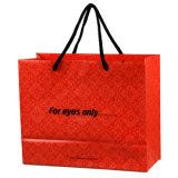 Bolsos de compras impresos alta calidad del regalo para la ropa (FLS-8201)