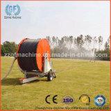 Irrigation agricole avec le canon de pluie
