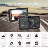 3.0inch Dual o carro DVR do registrador da câmera da came do traço da câmera (T626)