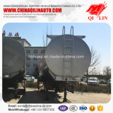 remorque corrosive de camion-citerne de transport de liquides de la capacité 36cbm semi