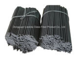 Fibra Rod/Palo/barra, fibra Rod del carbonio di resistenza chimica del carbonio