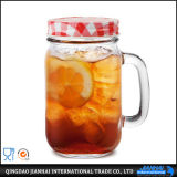 Maurer Jar Manufacturer Glass Bottle mit Handle
