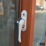 Окно цветастого UPVC профиля хорошего качества сползая, окно UPVC, окно K02088