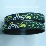 Bracelete de borracha relativo à promoção do presente plástico da alta qualidade (SB-039)