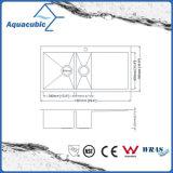 Pia de cozinha em aço inoxidável de aço inoxidável (ACS3621A2Q)