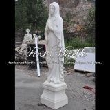 Statua bianca della giada per la decorazione domestica Ms-1053
