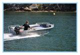 pequeña nave de aluminio de los 4.2m para el barco del bote de la pesca con Ce