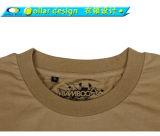 Polyester-Gewebe-T-Shirt der 60% Baumwolle40%