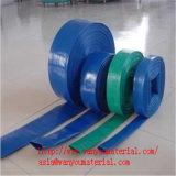 Manguito/tubo del PVC Layflat para la agricultura/el manguito de goma de Layflat