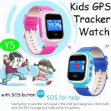 Kinder GPS-Verfolger-Uhr mit mehrfachen Sprachen (Y5)