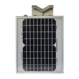 A intégré tous dans un réverbère solaire de 5W DEL avec du ce RoHS