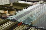 vidrio endurecido templado 3m m con la perforación del orificio