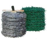 Alambre de púas revestido galvanizado sumergido caliente de Bwg 14X16 /PVC