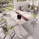 Moderner großer Personen-Büro-einfache Auslegung-Konferenztisch des Raum-U der Form-12 (DA-072)