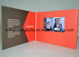 Carro que anuncia o folheto do vídeo de TFT LCD