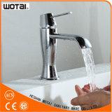 Robinet à levier unique de finition de bassin de Wotai Chrom