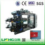 Maquinaria de impressão plástica de Flexo do saco de vestuário do elevado desempenho Ytb-41400